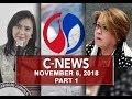 News (November 6, 2018) PART 1