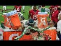 10 Funniest Moments Caught By Cameras On NFL Sidelines (Caught On Live TV)