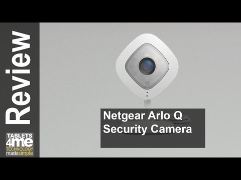 New Netgear Arlo Q - 1080p HD Security Camera with Audio