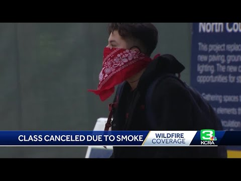 Wildfire Smoke Forces Some Schools To Close, But Not All