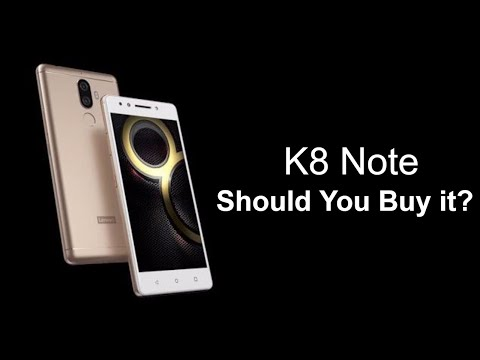 Lenovo K8 Note Launched in India Specs, Features and my Views