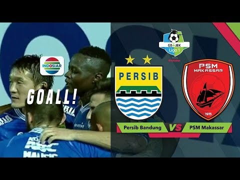 Goal Ezechiel N'Douassel - Persib Bandung (1) vs PSM Makassar (0) | Go-Jek Liga 1 Bersama Bukalapak