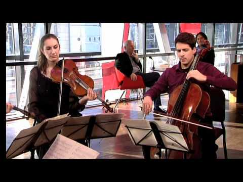 play video:Navarra Quartet plays Vasks in Vrije Geluiden