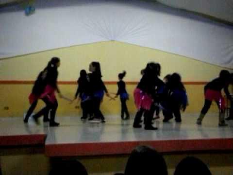 Educação física - Dança abertura copinha Bom Repouso