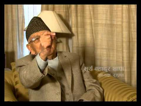 TOUGH talk with Surya Bahadur Thapa, President, RPP