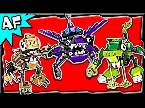 Lego Mixels MAX Series 3: Glorp Corp, Spikels, Wiztastics Stop Motion Review