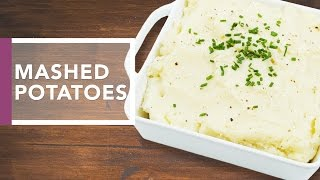 Perfect Mashed Potatoes | Thanksgiving Dinner 2016 by The Domestic Geek
