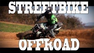 Extreme Triumph Street Triple Offroad - Julien Welsch - StreetBike Motocross - YouTube