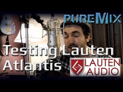 Testing the Lauten Audio Atlantis Microphone with Will Knox