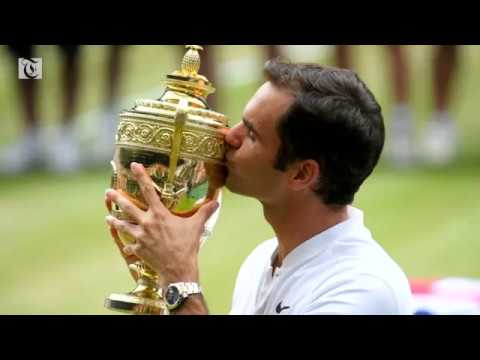 Federer wins his eighth Wimbledon title