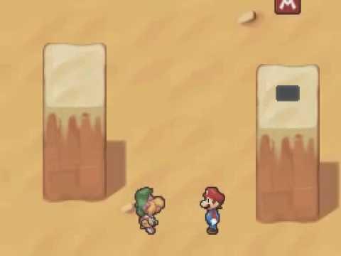 Mario and Luigi Partners In Time funny scene