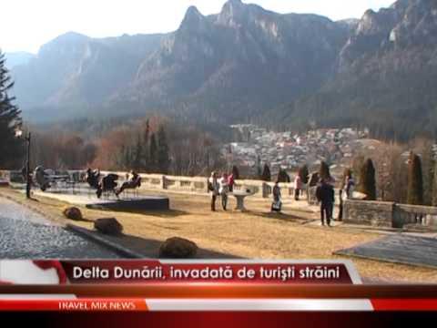 Delta Dunării, invadată de turiști străini