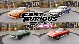 Nonton Fast And Furious 1 8 All Cars  Forza Horizon 3  Film Subtitle Indonesia Streaming Movie Download