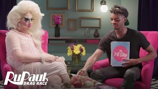 RuPaul's Drag Race (Season 8 Ep.2 Recap) | The Pit Stop with Kingsley & Trixie Mattel | Logo
