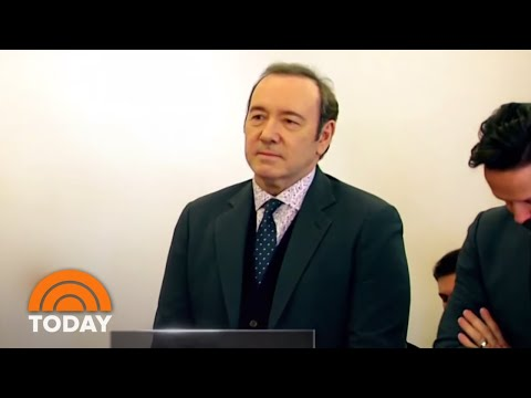 Kevin Spacey Pleads Not Guilty | TODAY