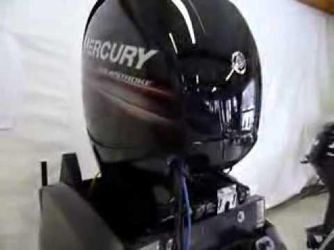 Troll Control Demo with 2013 Mercury 150 hp 4 stroke