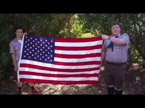 Scout's Guide to the Zombie Apocalypse (Red Band Clip 'How to Fold a Flag')