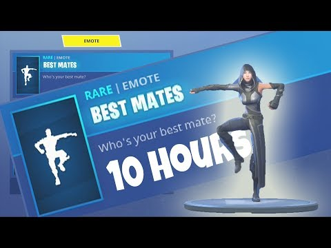 FORTNITE BEST MATES WITH *New* Skin FATE 10 hours