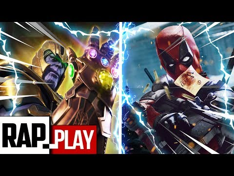 DEADPOOL VS THANOS | KRONNO ZOMBER Ft. Hollywood Legend Beats | ( Videoclip Oficial )