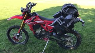 10. MOSKO MOTO RECKLESS 80L ON THE BETA 500RR-S