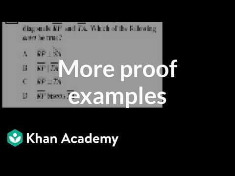 Ca Geometry More Proofs Video Khan Academy