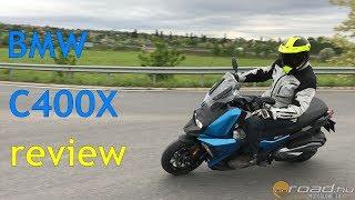 1. BMW C400X medium size scooter review (4K) - Onroad.bike