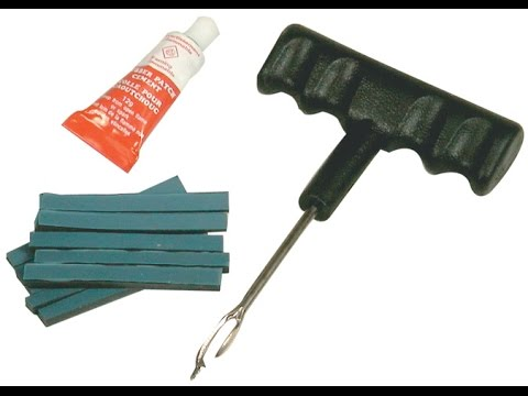 How to Repair a Car Tire Using a Patch Kit