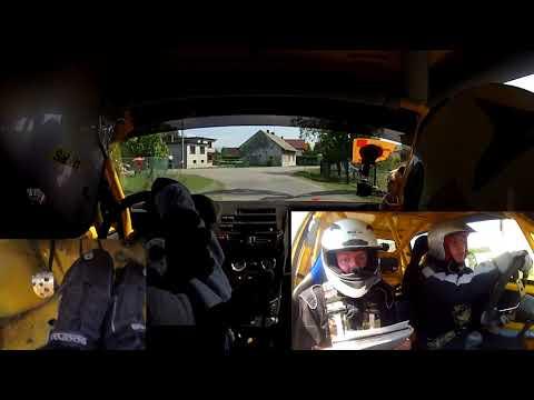 4 Runda Rajdowy Puchar Śląska 2018 - [OS5 onboard] OesRecords Rally Team