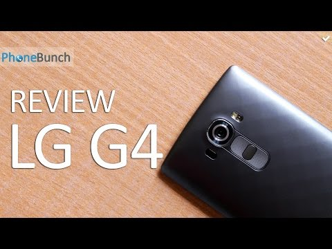 LG G4 Review - Best Smartphone of 2015?