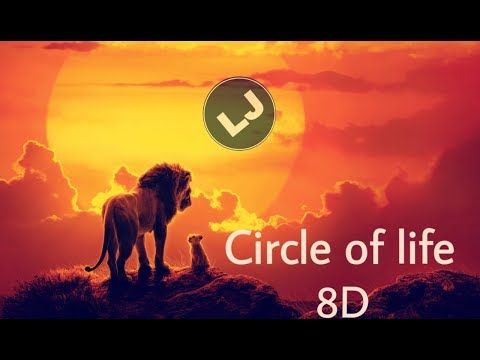 """Circle of Life/Nants' Ingonyama (From """"The Lion King""""/ 8D Audio Only)"""