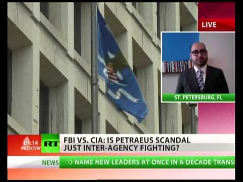 General Petraeus' sex scandal: CIA vs FBI?