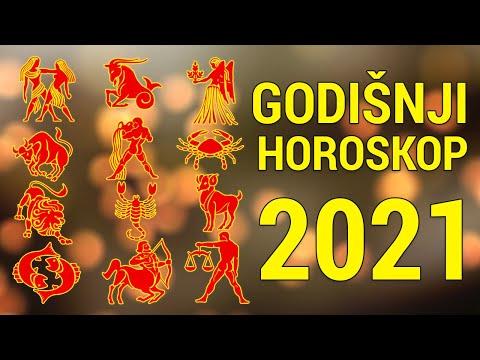 GODIŠNJI HOROSKOP ZA 2021