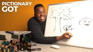 Juego de Pictionary: Game Of Thrones – DuckTapeTV