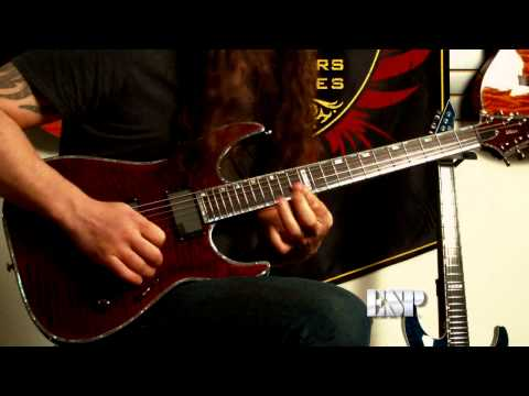 Rob Caggiano demos the LTD H-1001