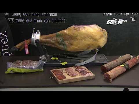 (VTC14)_Thịt lợn đen Tây Ban Nha giá 3,5 triệu đồng/kg vẫn đông người mua