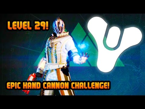 hand - EPIC Destiny gameplay! Level 29 Warlock HAND CANNON CHALLENGE Crucible PVP multiplayer gameplay! :) ▻ Help Me Reach 1000000 Subscribers! Click to Subscribe! ▻ http://bit.ly/SubToTG ▻...