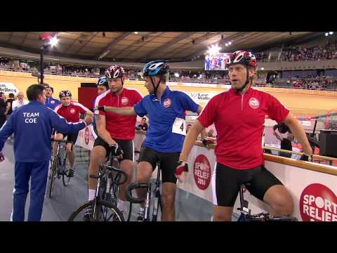 John Bishop vs Sebastian Coe in Clash of the Titans: event one | Sport Relief 2014