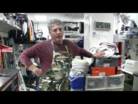 Ice Time Online – Locker Room Tour and Equipment Manager