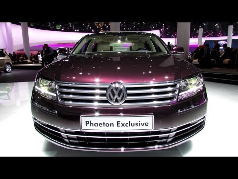 2014 Volkswagen Phaeton Exclusive - Exterior and Interior Walkaround - 2013 Frankfurt Motor Show