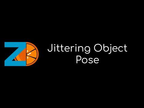 Jittering Object Pose