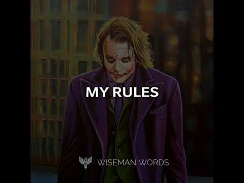 My Life My Rules | Positive Vibes Only | Wiseman Words