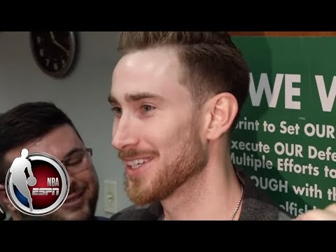 Video: Gordon Hayward getting more comfortable with Celtics in his return from injury | NBA on ESPN