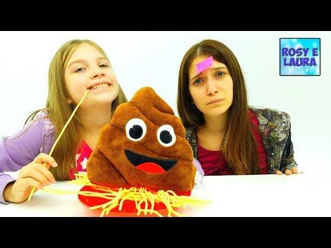 Challenge Ita Yati Spaghetti - la sfida degli spaghetti gioco da tavolo per bambini e bambine!