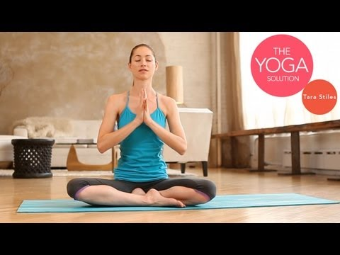 yoga - Follow us on YouTube: http://www.youtube.com/subscription_center?add_user=livestrongwoman Today I'm going to show you basic moves to get you started opening ...