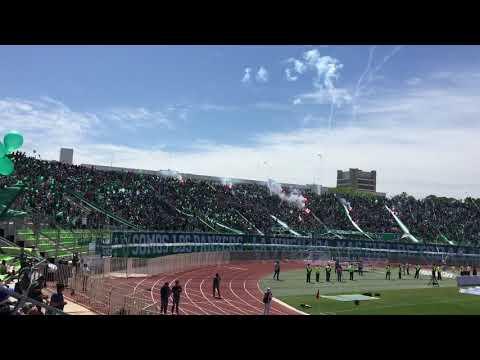 Salida Santiago Wanderers 'Los Panzers' - Clásico Porteño 22/10/17 - Los Panzers - Santiago Wanderers