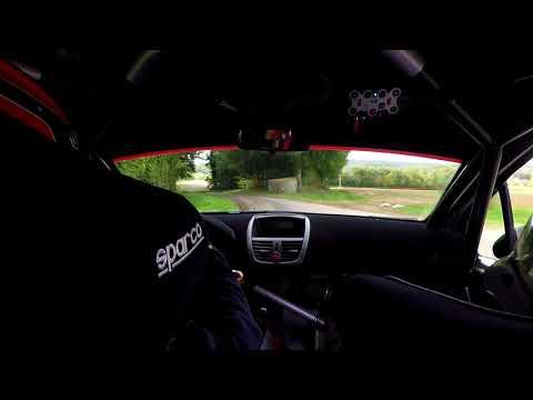 Rallye de la Haute-Saône 2017, Steve Mourey - Amélie Pierron, Peugeot 207 S2000 (видео)