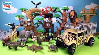 Hi kids, RaceToyTime here! Today, we are going to show and play with this Animal Planet Remote Controlled Animals Transporter. We also included some toy zoo animals in this video, such as, giraffe, elephant, lion, leopard, crocodile, zebra, bear, flamingo, monkeys and more!  Please subscribe to RaceToyTime channel if you haven't already done so. Like, share, and comment on our video. And, as always, thanks for watching!Subscribe to racetoytime here - https://www.youtube.com/channel/UCVTQrl1dtafYX08IBb7EhrwWatch our other videos:  Learn Animal Toys Names │ Zoo Animals Elephant Lion Tiger Rhino for Kids - https://www.youtube.com/watch?v=KnsmONvQyeYLearning Sea Animals Toy Sharks Whales Dolphin - https://www.youtube.com/watch?v=9i88w4UqPnADinosaur Surprise Toys Game in the Claw Machine -  Learn Dinosaurs Names For Children - https://www.youtube.com/watch?v=H8AkVqFrxhoJurassic World Mini Dinosaurs Figures Blind Bag Exclusive Indominus Rex  - https://www.youtube.com/watch?v=_bgyS74lUR8Playmobil City Zoo Toy Wild Animals Building Set Build Review - https://www.youtube.com/watch?v=g5dbYcmUHZ8Playmobil City Life Large Zoo Toy Wild Animals Building Set Build Review - https://www.youtube.com/watch?v=IZXfiFPyW8EDinosaurs 3D Puzzles Animals Eggs Surprise Toys - Spinosaurus Ankylosaurus Pteranodon - https://www.youtube.com/watch?v=VJuukvLmpSgDinosaur Transforming Eggs Toys - Tyrannosaurus Rex Pterodactyl Velociraptor Triceratops - https://youtu.be/HT_CFeMP9GkToy Wild Animals 3D Puzzles Collection - Lion Panda Elephant Zebra Tortoise │ Animals for children - https://youtu.be/yabb98z1WC8Playmobil Toy Wild Zoo Animals Collection For Kids - Tiger Panda Koala Gorilla - https://youtu.be/L06I3WiWjNsPLAYMOBIL Country Farm Animals Pen and Hen House Building Set Build Review  - https://www.youtube.com/watch?v=dGplrNa-NZkPLAYMOBIL Toy Wild Zoo Animals Collection For Kids - Tiger Panda Koala Gorilla - https://youtu.be/L06I3WiWjNsPlaymobil Safari Wild Animals Buiding Toy Sets Collection For 