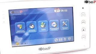 Видео. Видеообзор цифрового IP видеодомофона BAS-IP AR-07