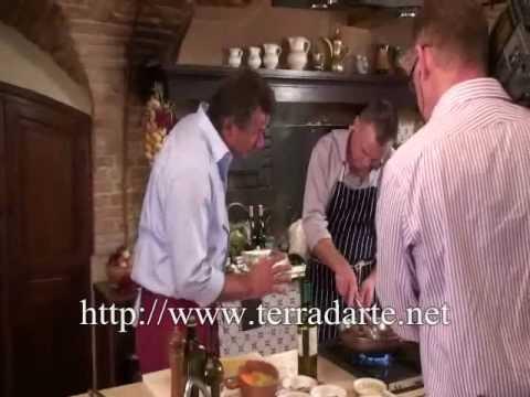 Italian cooking courses in Marche Wild Boar with Juniper Berries.wmv
