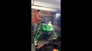 8. Sno Pro 500 CUTTING TROUBLE